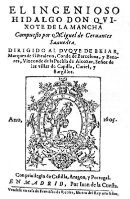 Cover of Don Quixote, 1st Edition