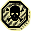 skull and crossbones poison